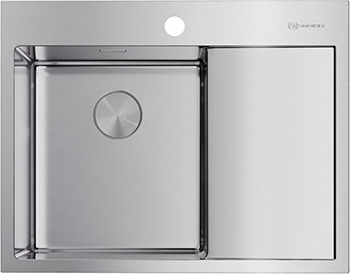 Кухонная мойка OMOIKIRI AKISAME 65-IN-L нерж.сталь/нержавеющая сталь (4973058) недорого