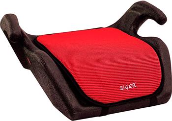 Автокресло Siger Мякиш красный 22-36 кг бустер группа 3 22 36 кг siger мякиш плюс синий