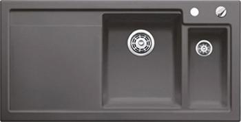 Кухонная мойка BLANCO 524147 AXON II 6 S (чаша справа) керамика базальт PuraPlus с кл.-авт. InFino axon c 105