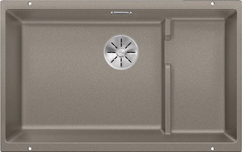 Кухонная мойка BLANCO SUBLINE 700-U Level SILGRANIT серый беж с отв.арм. InFino 523545 цены онлайн
