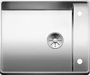 Кухонная мойка BLANCO ATTIKA 60/A нерж.сталь зеркальная полировка без клапана автомата 521597 кухонная мойка blanco etagon 500 u нерж сталь зеркальная полировка без клапана автомата 521841