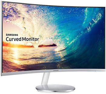 ЖК монитор Samsung C 27 F 591 FDI (LC 27 F 591 FDIXRU) Silver монитор 27 samsung c27h800fci
