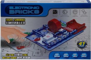Электронный конструктор Electronic Blocks Радио свет НЛО YJ 188170438 1CSC 20003432 электронный конструктор electronic blocks проектор yj 188171447 1csc 20003433