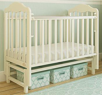 Детская кроватка Giovanni, Classico Ivory GC 1250-S 120*60, Китай  - купить со скидкой