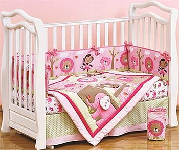 Комплект постельного белья Shapito Pink Zoo 1614