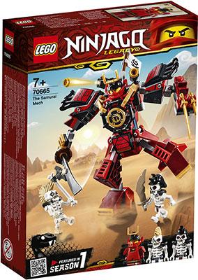 цена на Конструктор Lego Робот-самурай 70665 Ninjago Legacy