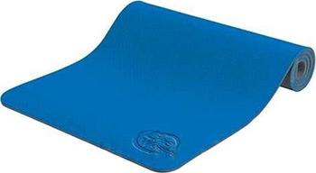 Коврик для йоги и фитнеса Lite Weights 5460 LW синий/антрацит эспандер для фитнеса easy body цвет черный синий
