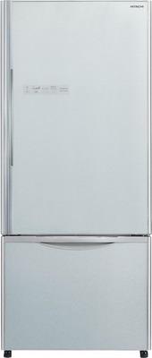 Двухкамерный холодильник Hitachi R-B 502 PU6 GS серебристое стекло фото