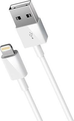 Кабель Nobby Comfort s8-pin для Apple (MFI) 2.1А 1.2м бел. 001-001 smarterra str al002m 8 pin apple lightning mfi pink gold