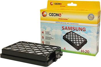 HEPA-фильтр Ozone H-20 целлюлозный для пылесоса ozone h 15 нера фильтр для пылесоса lg