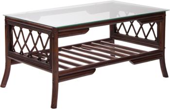 Комплект мебели RattanDesign для отдыха Kelly-2 МИ цвет Орех kembali комплект мебели для отдыха ява семара 2