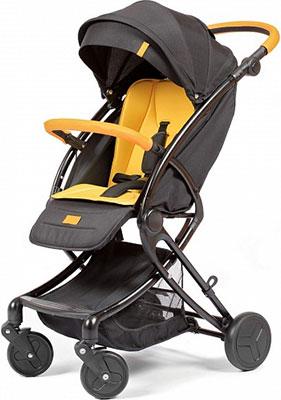 Коляска Giovanni Modo цвет Black/Yellow (черно-желтый) GS 9500-77