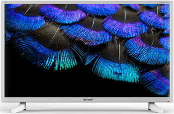 лучшая цена LED телевизор Sharp LC 40 FI 3222 EW белый
