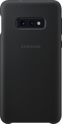 Чехол (клип-кейс) Samsung S 10 e (G 970) SiliconeCover black EF-PG 970 TBEGRU клип кейс uniq samsung galaxy s10e black