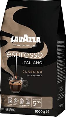 Кофе зерновой Lavazza Caffè Espresso 1000 г lavazza prontissimo classico кофе растворимый 95 г