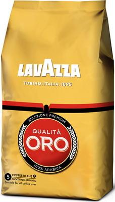 Кофе зерновой Lavazza Qualità Oro 1000 г кофе зерновой miscela d oro gran crema 1000 г