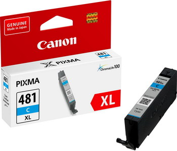 Фото - Картридж Canon CLI-481 XL C EMB 2044 C 001 Голубой картридж canon cli 481pb xl 2048c001 для canon pixmats8140ts ts9140 голубой