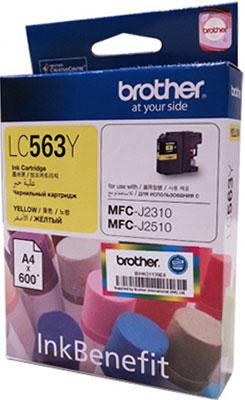 Картридж Brother LC 563 Y желтый картридж mak© tk 130 черный для лазерного принтера