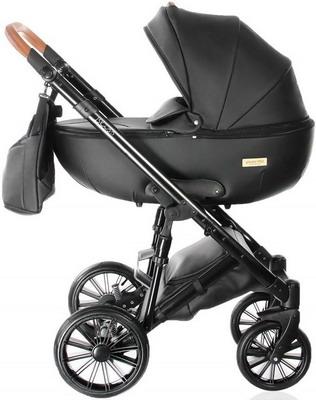 Коляска Everflo BLISS black ПП100004371 коляска 2 в 1 everflo soft graphite пп100004367