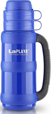 лучшая цена Термос LaPlaya Traditional Glass 35-100 blue 560006
