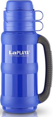 Термос LaPlaya Traditional Glass 35-100 blue 560006 термос laplaya traditional 35 цвет зеленый 1 л