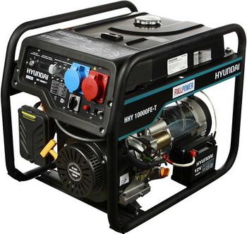 Электрический генератор и электростанция Hyundai HHY 10000FE-T