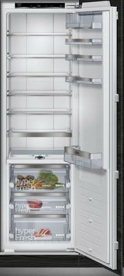 Встраиваемый однокамерный холодильник Siemens KI 81 FPD 20 R встраиваемый двухкамерный холодильник siemens ki 86 nvf 20 r