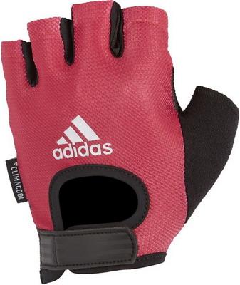 Перчатки Adidas Pink - M ADGB-13224 худи женское adidas fl prime hoodie цвет синий du1304 размер m 48