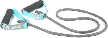Эспандер Reebok RATB-11030BL эспандер трубчатый reebok слабое сопротивление цвет голубой