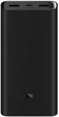 Внешний аккумулятор Xiaomi Mi Power Bank Pro 3 20000mAh PLM07ZM Black VXN4245CN внешний аккумулятор xiaomi mi power bank pro 3 20000mah plm07zm black vxn4245cn