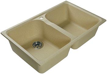 Кухонная мойка Lex Constance 780 Ivory бежевый мойка lex orta 620 rule000026