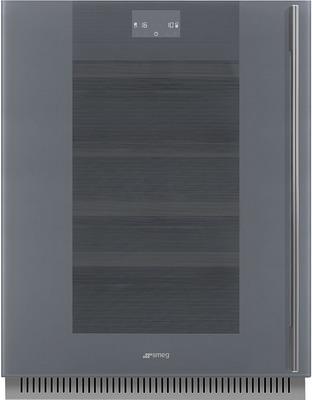 Встраиваемый винный шкаф Smeg CVI138LWS2