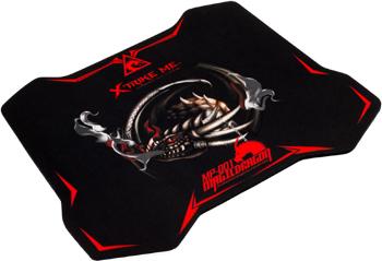 Игровой коврик для мыши Xtrike Me MP-001 300 x 230 x 4 мм xtrike x 103 5 5 r14 4 108 et20 d65 1 bk