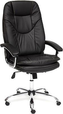 Кресло Tetchair SOFTY Lux кож/зам черный 36-6 парка softy softy so017ewcuse2