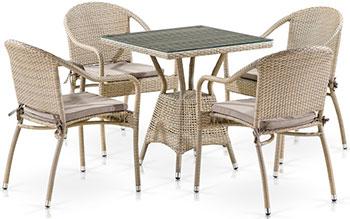 Комплект мебели 4 и 1 Афина T706/Y480C-W85 PCS Latte