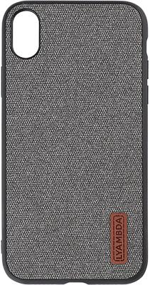 Чехол (клип-кейс) Lyambda, REGUL для iPhone XS Max (LA06-RG-XSM-GR) Grey, Китай  - купить со скидкой