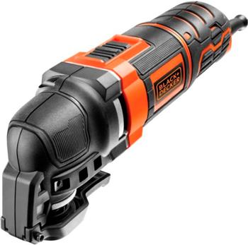 Осциллирующий инструмент Black&Decker MT300KA черно-оранжевый