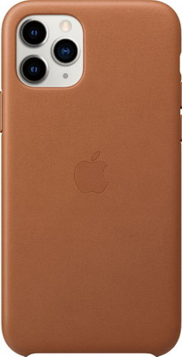 Чехол (клип-кейс) Apple iPhone 11 Pro Leather Case - Saddle Brown MWYD2ZM/A