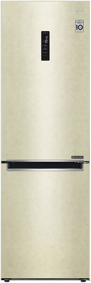 Двухкамерный холодильник LG GA-B 459 MESL бежевый