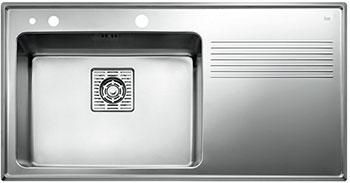 Кухонная мойка Teka FRAME 1B 1D PLUS RIGHT POLISHED цена