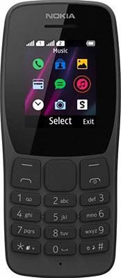Мобильный телефон Nokia 110 DS (ТА-1192) Black/черный