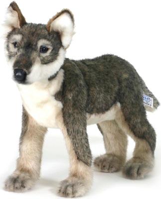 Мягкая игрушка Hansa Creation 5467 Щенок волка стоящий 30 см мягкая игрушка hansa creation 3973 щенок хаски стоящий 25 см