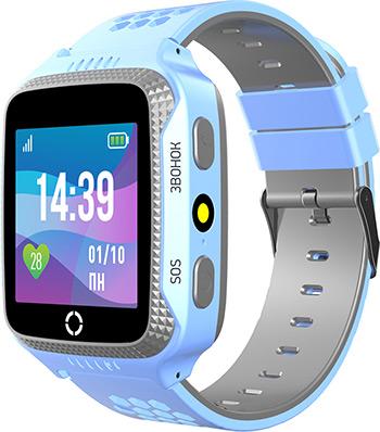 Детские часы с GPS поиском JET KID SCOUT голубой серый