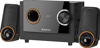 Акустическая система 2.1 Defender X362 36Вт BT/FM/MP3/SD/USB/LED/RC (65362)