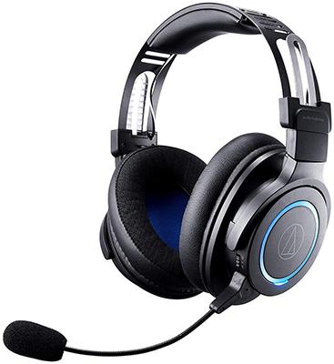 Игровая беспроводная гарнитура премиум-класса Audio-Technica ATH-G1WL гарнитура