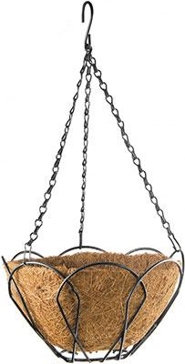 Фото - Подвесное кашпо Palisad 69001 подвесное кашпо с орнаментом 30 см с кокосовой корзиной palisad