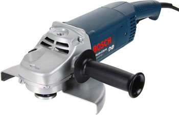 Угловая шлифовальная машина (болгарка) Bosch GWS 20-230 H 601850107 угловая шлифмашина bosch gws 20 230 h professional