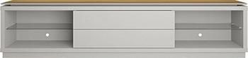 Фото - Тумба под телевизор Manhattan LINCOLN 2.4 ТВ OFF-WHITE MATTE/ CINNAMON PA222151 552 x 2400 x 447 тумба под телевизор manhattan lincoln 1 9 тв off white natural pa16654 172 54 539 x 1950 x 448
