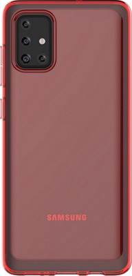 Чеxол (клип-кейс) Samsung Galaxy A71 araree A cover красный (GP-FPA715KDARR)
