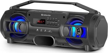 Портативная акустика Defender G104 12Вт Light/BT/FM/TF/USB/TWS